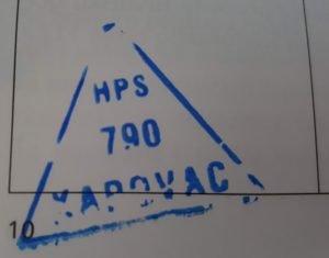 Vrh 1. Kapovac Žig Hrvatske Planinarske Obilaznice