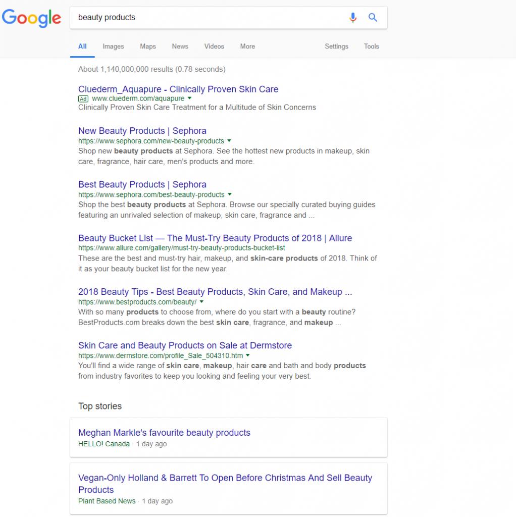 Find Niche Ideas - Step 4 - Google Search
