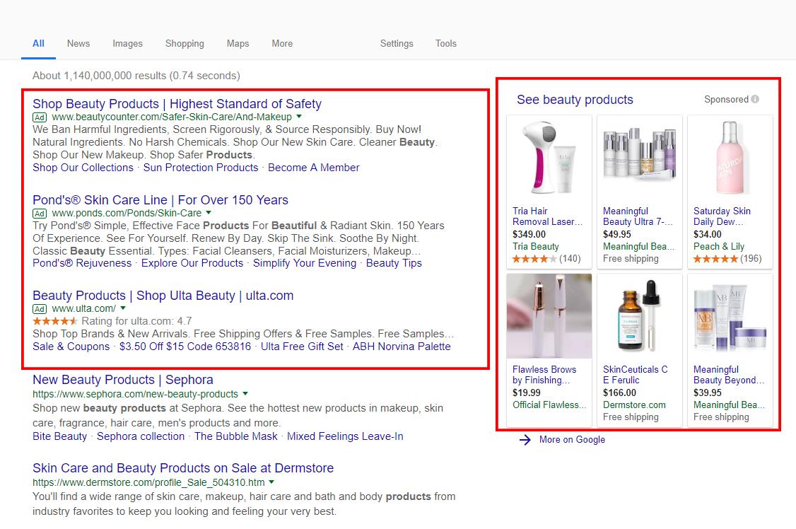 Find Niche Ideas - Step 5 - Google Search Ads